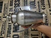 Apollo Bernard Rice's Sons Hammered Silver Plate Cocktail Shaker No Reserve