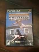 Backyard Wrestling Don't Try This At Home - Sony Ps2 - No Manual Works Perfect