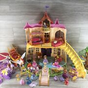 Disney Sofia The First Magical Talking Castle Play Set Huge Lot Preowned Look