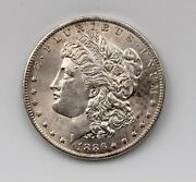 1886-o Morgan Dollar, Extreme Detail Rare In This Conditio Bu++ Cleaned