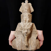 Bc Pharaonic Egyptian Antique Antiques Egypt Antiquities Figurine Statue -m300