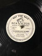Lot Of 4 June Carter Carter Family Carter Sisters Rca White Label Promo 78 Rpm