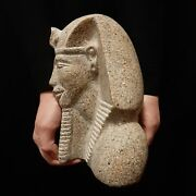 Bc Pharaonic Egyptian Antique Antiques Egypt Antiquities Figurine Statue -y243