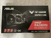 Asus Tuf Gaming Radeon Rx 6900 Xt Oc 16gb Graphics Card In Hand