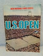 1979 Tennis Us Open Program 2nd Year At Flushing Meadows Conners, Evert, Etc
