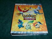 Very Cool Pokemon Trading Card Game Album + 68 Cards - Lots Of Rares