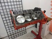 Small Block Chevy 383 Short Block Eagle Crank Rods Coated Pistons Clevite