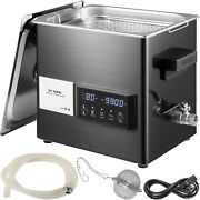 Vevor 9l Ultrasonic Cleaner Touch Cleaning Equipment Industry W/ Timer And Heater