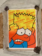 Ben Frost Bart On Corona Split By Fountain Variant Le 20 3 Print In Hand Rare