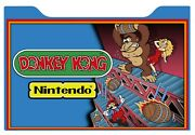Donkey Kong Arcade 1up Cabinet Riser Graphic Decal Sticker