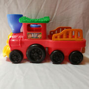 Fisher Price Little People Toy Train Engine With Animal Sounds