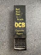Antique Roll Your Own With Ocb Cigarette Papers Dispenser Store Display Rack