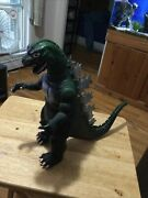 Vintage 13 Tall Godzilla Monster Action Figure Toy 1985 Toho Co Ltd Imperial