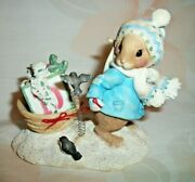 Enesco Mouse Tales I'll Be Home For Christmas Figurine