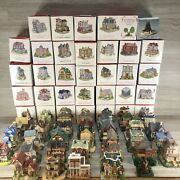 Liberty Falls Americana Collection Mini Houses Lot Of 33 With Boxes