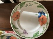 Vintage Villeroy And Boch Amapola China Dishes
