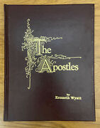 The Apostles By Kenneth Wyatt, Signed By Author, Illustrated Hardcover 1989