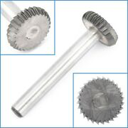 16mm X 5mm Carbide Rotary File Carving Rasp Burr Disc Grinding Milling Drill Bit
