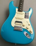 Fender American Professional ‡u Stratocaster Hss Miami Blue Guitar From Nev407