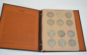 1921 - 1935 Silver Peace Dollar Complete Set -andnbspp D And S - Free Us Shipping