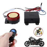 Motocycle Scooter Car Security Alarm System Remote Control 12v Anti Theft Bike