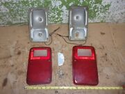 1979 Dodge Van 6 Cyl 225 Engine Left And Right Tail Light Lens Housing 1980 Oem