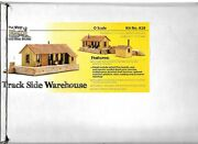 Wild West Scale Model Builders 829 - 0 Scale Track Side Warehouse