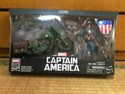 Marvel Legend Captain America With Bike Action Figures Secondhand Almost