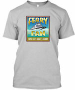 Ferry Fan Design - Cape May Lewes Tee T-shirt