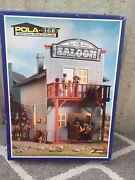 Pola / Lgb  1802 G Scale Weather Resistant Red Horse Saloon Kit New In Box