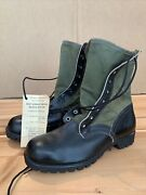 Nos Authentic 6/1966 Us Army Vietnam War Jungle Boots Size 8xw Mint With Tag