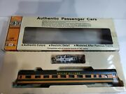Ho Scale Con-cor Ho 85' Corrugated Coach Great Northern Item 0001-00710b.