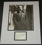 Orson Welles - 1939 Signed Album Page W/ Orig. Jane Eyre Still Photo - Matted