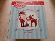 Santa Rudolph Red Nosed Reindeer Possible Dreams Figure Diorama New Christmas