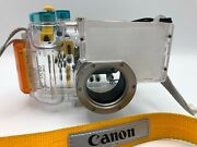 Canon Wp-dc50 Waterproof Case And Neck Strap For Powershot A95 40m/130 Ft