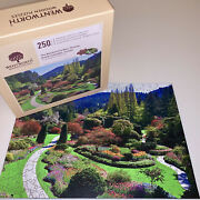 Wentworth Wooden Puzzle The Butchart Gardens Victoria Canada Landscape Liberty