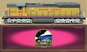 Mth Premier 20-2281-1 Up/union Pacific Sd24 Diesel Engine W/ps2 O-gauge Ln Rare
