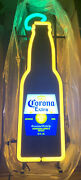 Rare Corona Beer Bottle Led Lighted Sign New In Box