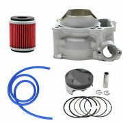For Yamaha Wr250f Yz250f 2001-2013 Cylinder Piston Rings Oil Filter Std 77mm Kit