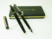 New Vintage 1960andacutes Lamy 27 30 Fountain Pen 14ct Ef Nib And Ballpoint And Box - Nos