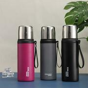 Insulated Coffee Cup Mug Travel Thermal Stainless Steel Flask Vacuum Leakproof E