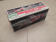 2005 Hess Emergency Fire Truck And Rescue Vehicle Original Packaging Never Played