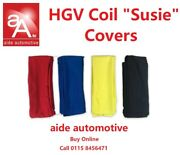 Truck Coil Suzie Cable Cover For The 24 N 24 S And Iso7638 Air Hose Red / Yellow