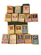 Pokemon Card Lot. Holo Foils, Rare, Shadowless, Some First Editions