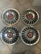 1967 Ford Hub Caps 15 Set Of 4 Wheel Covers Hubcaps 1967