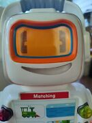 Playskool Alphie Talking Robot W/ Backpack 29 Cards Numbers Letters Tested Vguc