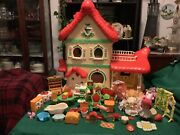 Vintage 1983 Strawberry Shortcake Berry Happy Home And Furniture