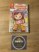 New Cooking Mama Cookstar Nintendo Switch Sealed Usa Seller Free Shipping