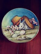 Easter By V Tiziano 1973 Veneto Flair Italy Art Plate Hand Etched 392/2000