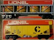 Lionel Chessie Short Hopper 6-9016 And Dole Pineapple Car 6-9132